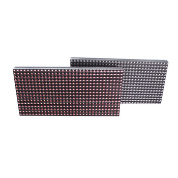 Waterproof p10-1r outdoor led display module,hot p10 single red color led module