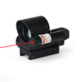 Red Dot Riflescope Tactical 1X Magnification 4 Reticle Mini Red Green Dot Scope For Hunting Use
