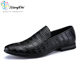 Latest leather mens black casual shoes for men