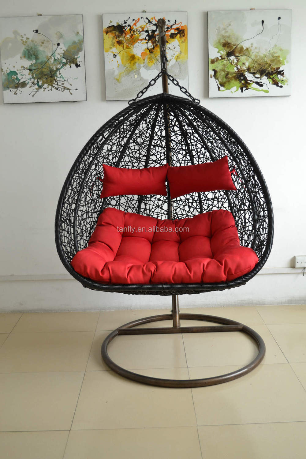 Two Seater Garden Hanging Swing Chairs