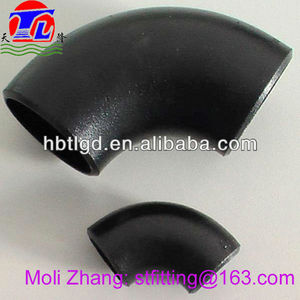 A105 CS pipe fittings elbow- butt welded seamless astm wpb a234 elbow