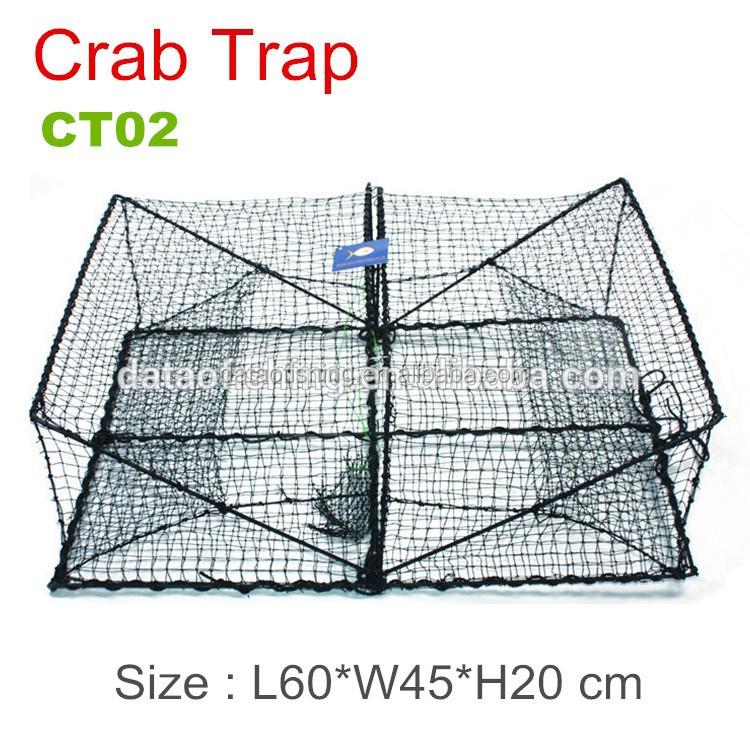 Rectangle Folding Fishing Crab Trap