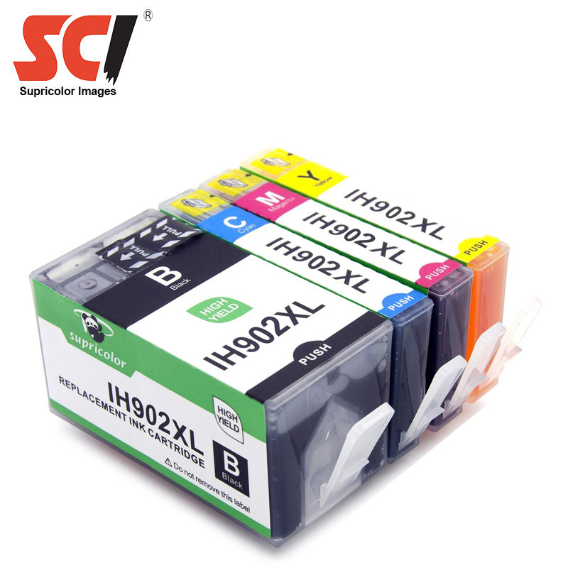 Supricolor Ink cartridge replacement for hp 902XL