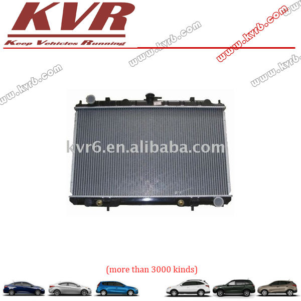 auto radiator: 21460-2Y603,21410-2Y900, Nissens#:68713, Core size:400*688*16/26, Application:for Nissan MAXIMA'03 A33