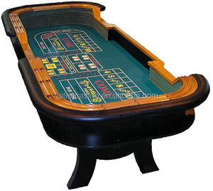 Fine Deluxe Wood Craps Table Gambling Craps Table Beutiful Home Inspiration Ommitmahrainfo