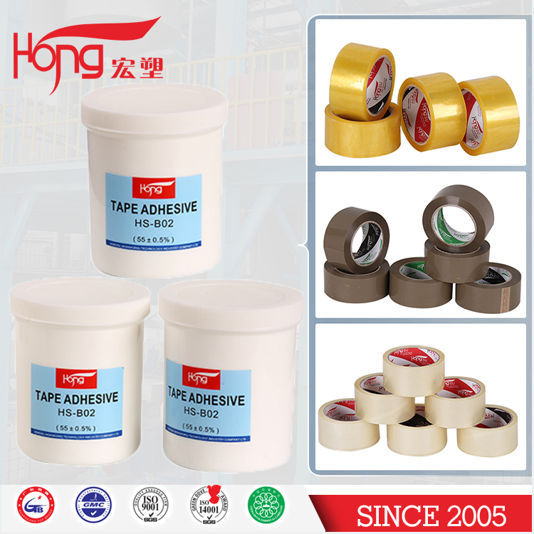 Bopp adhesive tape jumbo roll raw materials excellent adhesion acrylic bonding adhesive at lower temperatures