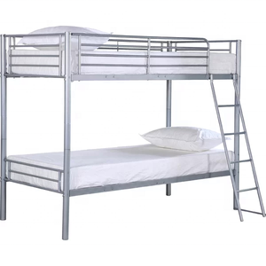 dorm hostel industrial metal bunk bed for sale