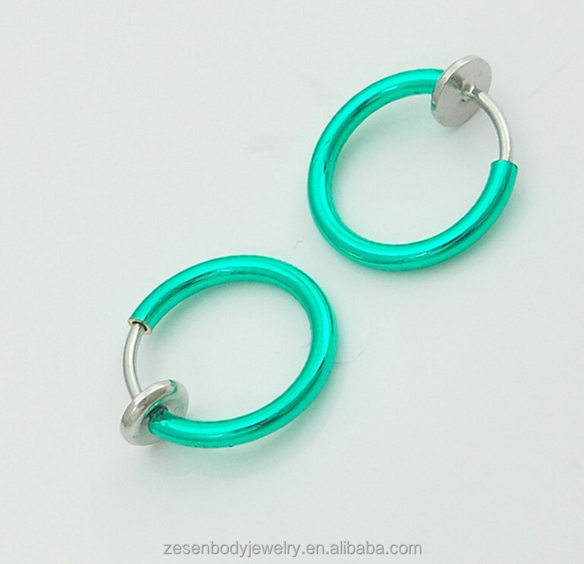 Newest design fake septum nose ring, septum clip, septum jewelry