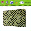Polyester fleece bed sheets with dog print