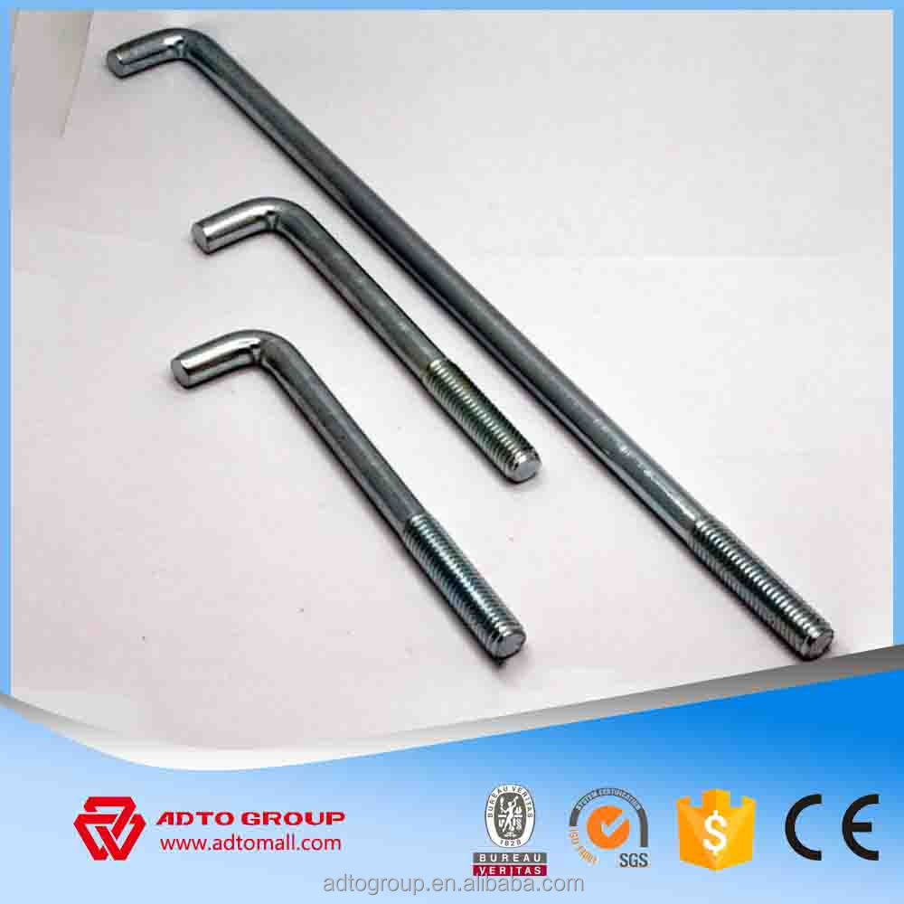 High Quality Torque Controlled Expansion Anchor Bolts,M6 M8 M10 M12 M16 M20 M24 M30 M36 M42 M48 Foundation bolt price,L bolts
