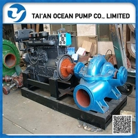 6 inch diesel engine high capacity water pump