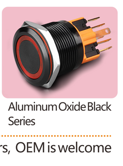 22 MM 15A (High) 저 (current 방수 래칭 순간 metal LED push button switch