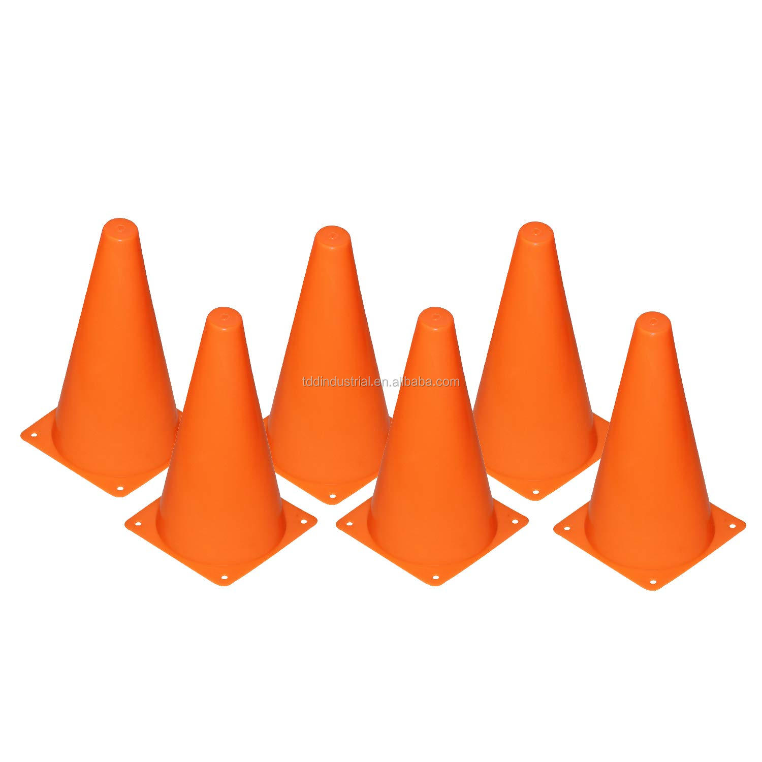 18cm Plastic Sport Training Traffic Cone & Sign tube obstacle road & Barricade marking cone football training equipment