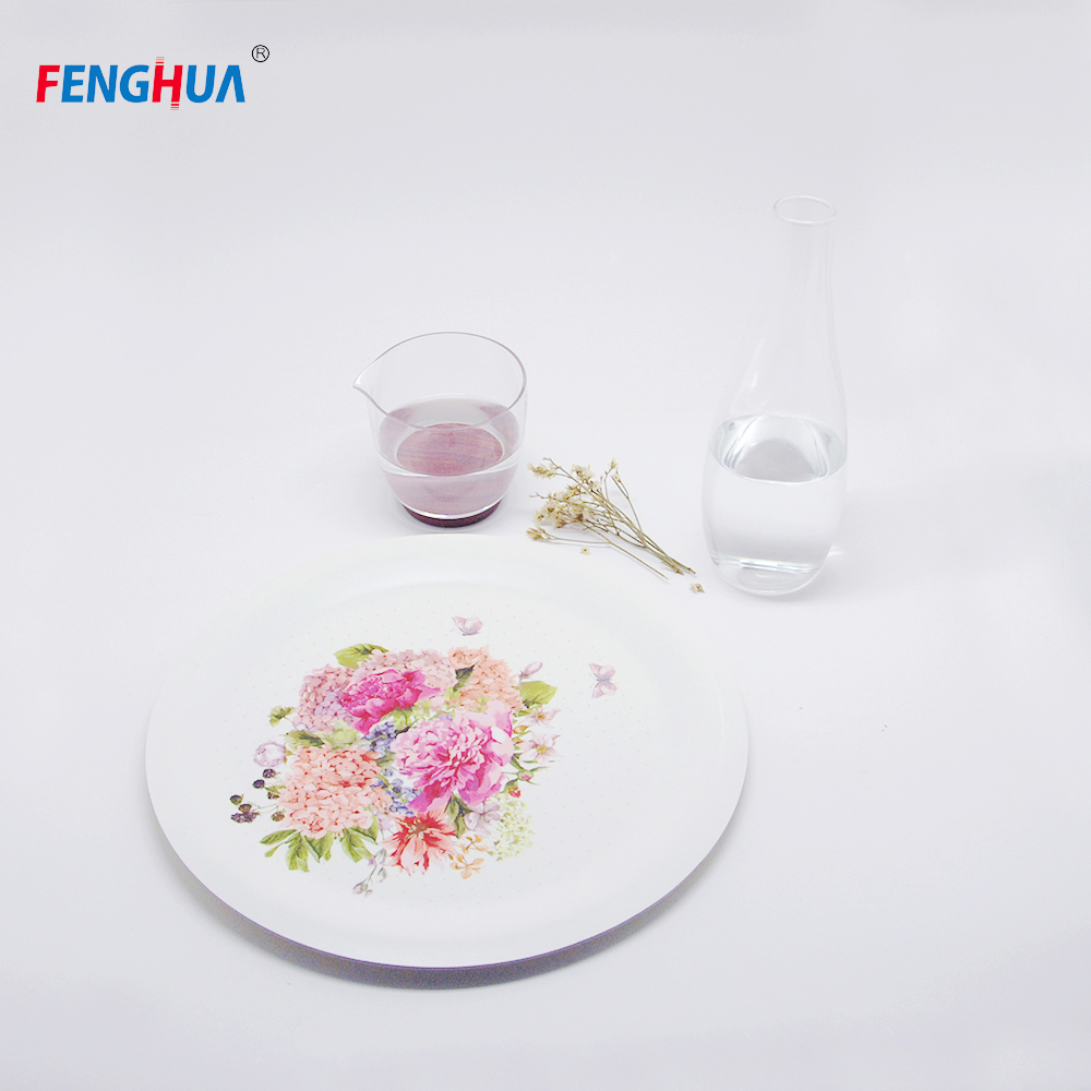 High Quality Biodegradable Tableware Paper Food Cake Plate