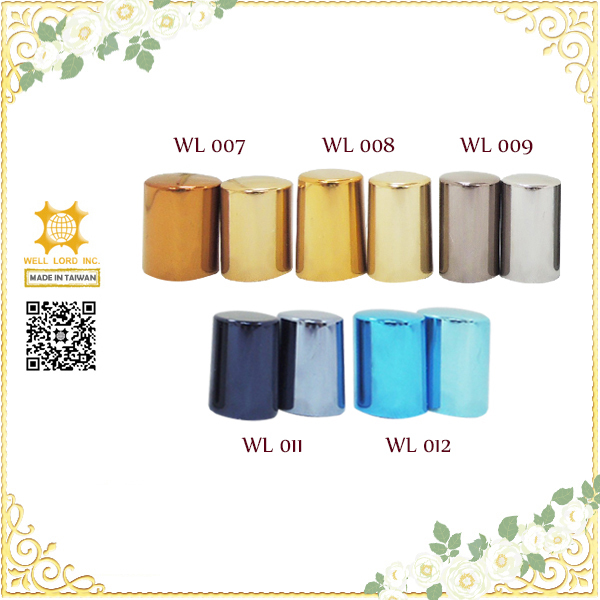 2018 Fancy metallic color customized perfume olive oil bottle cap