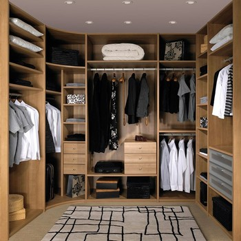 High Quality Open Wardrobe Furniture New Design Walk In