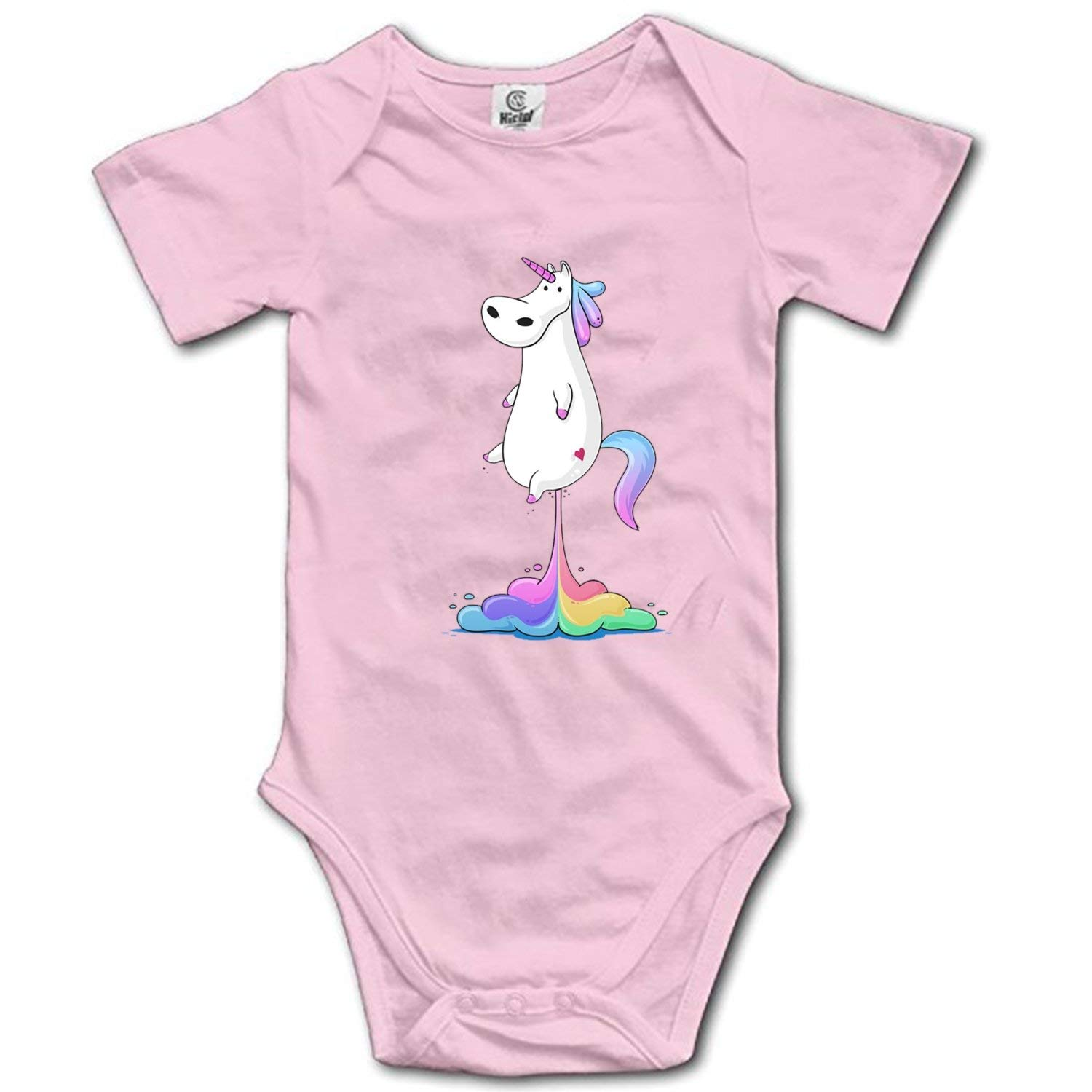 Infant Baby Girls Bodysuit Short-Sleeve Onesie The Outer Space Print Outfit Spring Pajamas