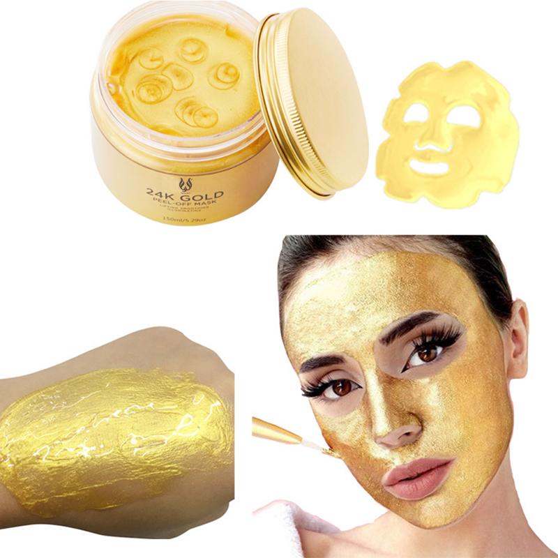 कस्टम लेबल चौरसाई पौष्टिक विरोधी ऑक्सीडेंट सोने कोलेजन चेहरे नकाब