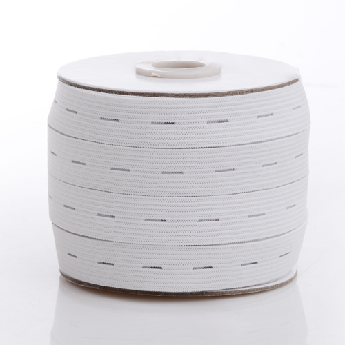 Knitting Elastic Tape with Buttonhole