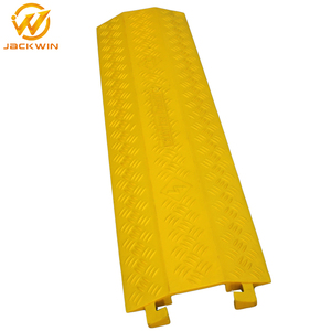 Lightweight Cable Protector / PVC Cable Cover / Plastic Cable Protection Covers