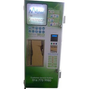 Water Filtration Systems Vending Machine/GSM Function Water Vending Machine with Coin Operated