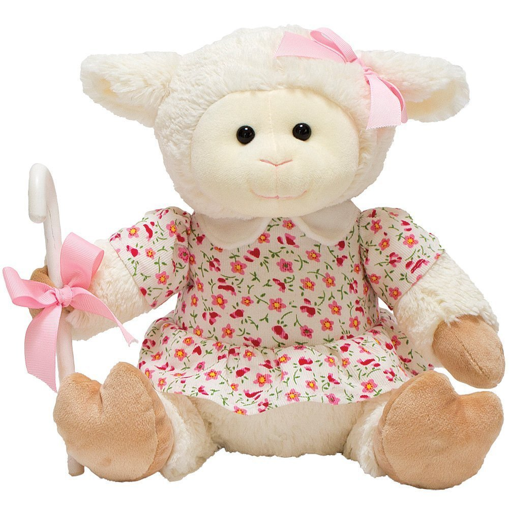 Cuddle Barn Animated Plush Easter Toy Mary's Little Lamb Sway to Song