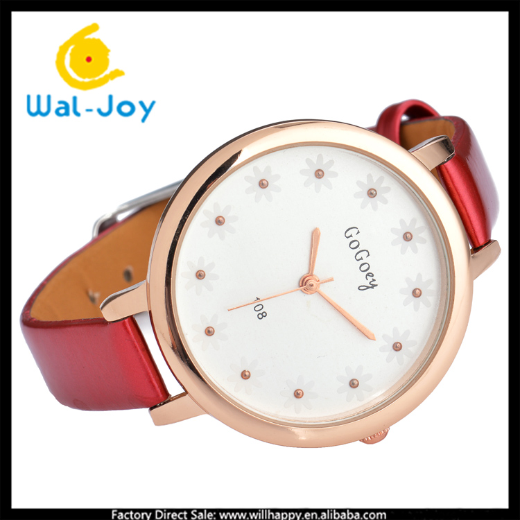 WJ-4778 top sell charming small flower design focus quartz gogoey brand women watches