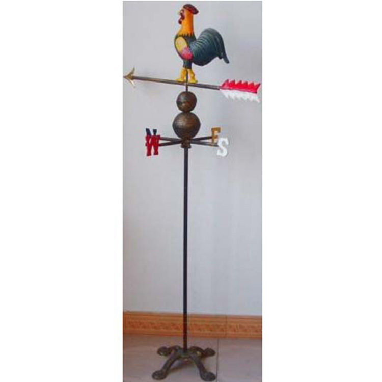 Cast Iron Decorative Weather Vane Garden Weathervane Rooster Product