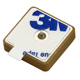 1575.42mhz GPS GLONASS Internal Antenna Ceramic Dielectric Passive Patch Antenna 25x25 15x15mm
