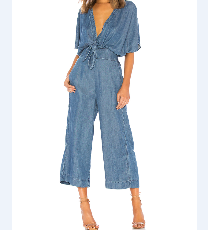 2019 Nieuwkomers Denim Jumpsuits High Fashion Womens Kleding Plus Size Jumpsuits Voor Vrouwen Casual Loose Lange Broek Jumpsuits