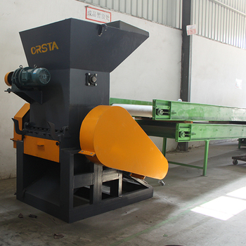 PET bottle crusher/shredder, HDPE grinder