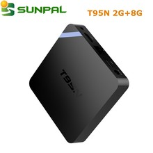 T95N Mini Mx+ Tv Box Amlogic S905x Android 6.0 Quad Core Wifi 4K Blu-tooth 4.0 Tv Receivers 1Gb Ram 8Gb Smart Media Set Top Box