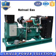 Nature gas generator with free spare parts genset