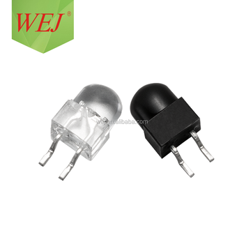 850nm 940nm 5mm Infrared Emitter and Receiver IR LED