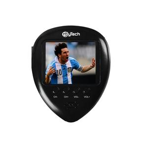 World Cup Hotsale Mini Pocket TV 1.8inch With Clock FM Funtion Lanyard Portable TV With Battery
