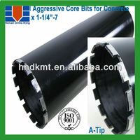 "1-3/8""*14""*5/8-11 v-tip 30% faster drilling core bits for concrete"