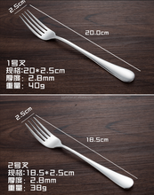 Stainless steel table forks with high mirror polishing and low price