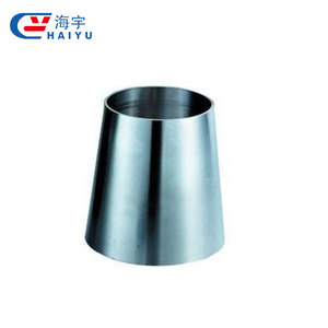 China manufacturers stainless steel sanitary welded concentric reducer