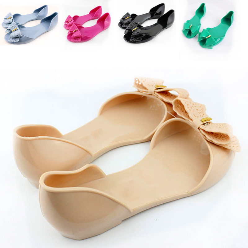 0fe77481d1e4 Get Quotations · free shipping 2015 hot sale summer PVC candy color jelly  women sandals fashion cut outs bow