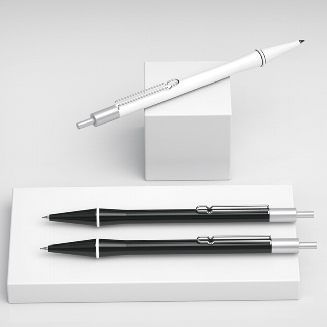 DESIGNED IN EUROPE Fashion new design twin metal pen and pencil set