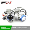 factory wholesale price 3.0 inch led bi-xenon projector lens for H4 car kit