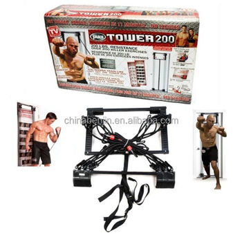 Full Body Resistance Bands Workout Door Gym Tower 200 Home Fitness Indoor Gyms Equipment  sc 1 st  Alibaba & Full Body Resistance Bands Workout Door Gym Tower 200 Home Fitness ...
