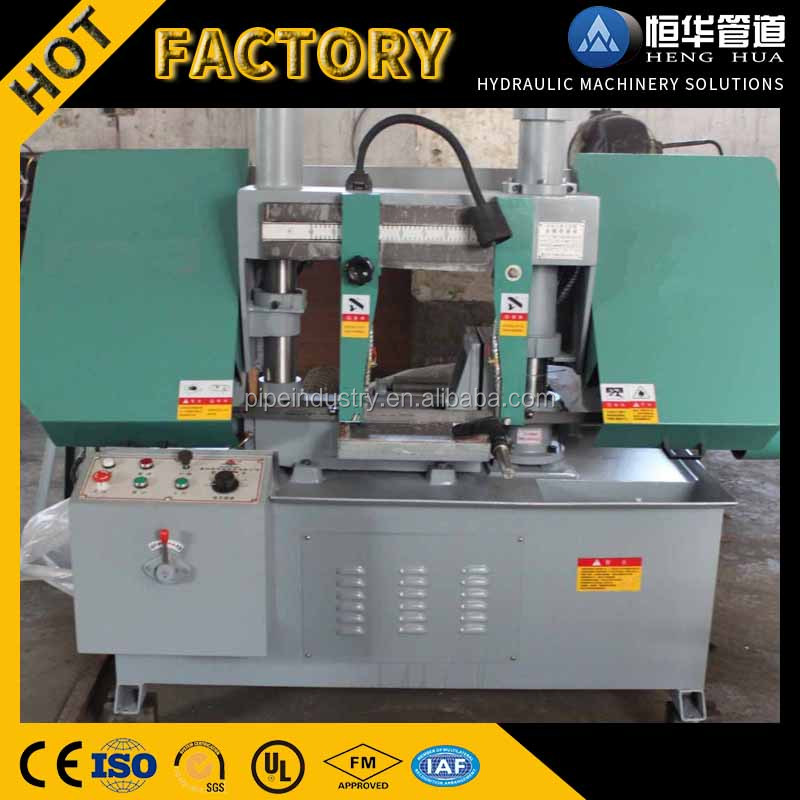 Fully automatic band saw horizontal metal cutting band saw machine