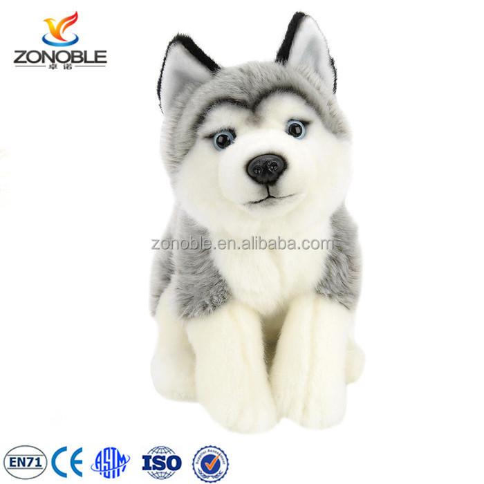 מקורי גור מותאם אישית בפלאש בעלי החיים צעצוע ממולא קטיפה כלב האסקי UQ-15