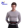 Popular exercise fanny pack runner safety reflective waist bag with pockets