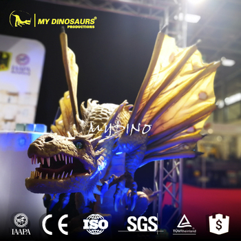MY Dino WD-04 Artificial Life-Size Western Dragon Robot
