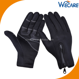 Women Men Outdoor Sports Wind Stopper Cold Weather Winter Touch Screen Gloves