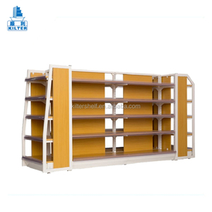 Low price stands wood supermarket fruit and vegetable display rack