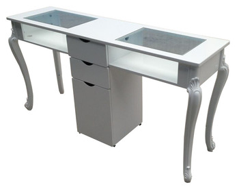 Modern Manicure Table Nail Salon Furniture Double Nail