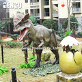 ZiGong Outdoor dinosaur model for sale